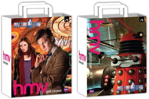 Doctor Who bags