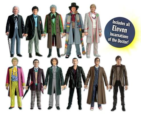 Eleven Doctors Set