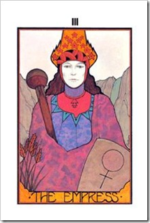 Aquarian Tarot  Major-Empress