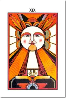 Aquarian Tarot  Major-Moon