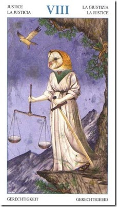 08-Major-Justice Animal Lords TAROT