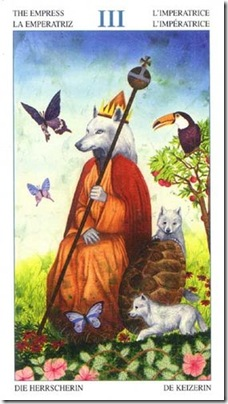 03-Major-Empress Animal Lords TAROT