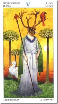 05-Major-Hierophant Animal Lords TAROT