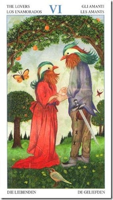 06-Major-Lovers Animal Lords TAROT
