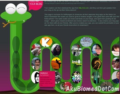Blog AkuBiomed didalam perut ular Nuff