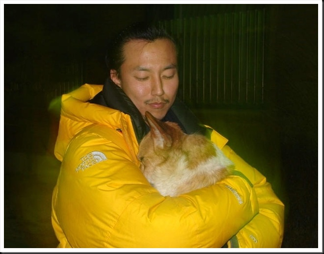www.KimNamGil-FC.com KNG with Lovely Dog (5)