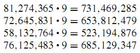 suprising number pattern 15