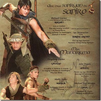 Encantadia - Ybarro [Dingdong Dantes] at mga Sapiryan