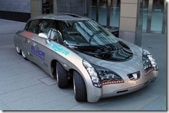 Eliica 8 Wheeled Electric Car from Japan 02