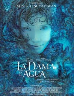 Poster de La Dama en el Agua
