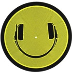 Technics Smiley Face Headphones Slipmats[MSMILE]