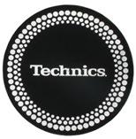 Technics Slipmats -- Silver Dots [DMCMDOT]