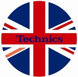 DMC Technics Union Jack Flag Slipmats