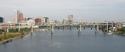 The Marquam Bridge