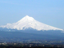 Mount Hood tight shot