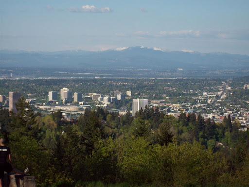 PDX From Council Crest
