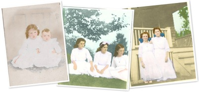 View Josephine, Ivah and Marion 1890's