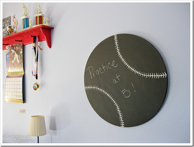 Baseball Chalkboard Tutorial
