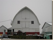 Barn, front view