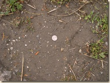 One thin dime..