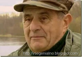 Великий шеф-повар Поль Бокюз снят во время утиной охоты