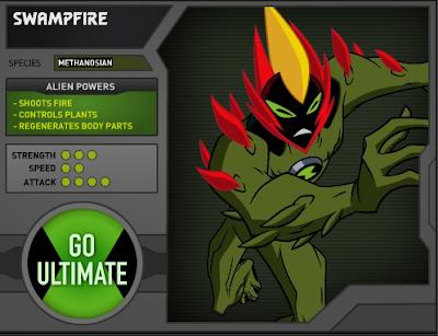 Swampfire Ben 10