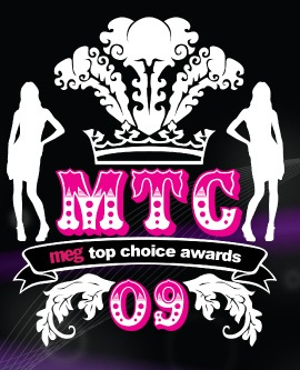 MEG Top Choice Awards 2009/image via meggurl.com