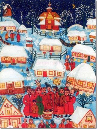 Авторські привітання з Різдвом, Новим роком, Колядою для SMS українською.