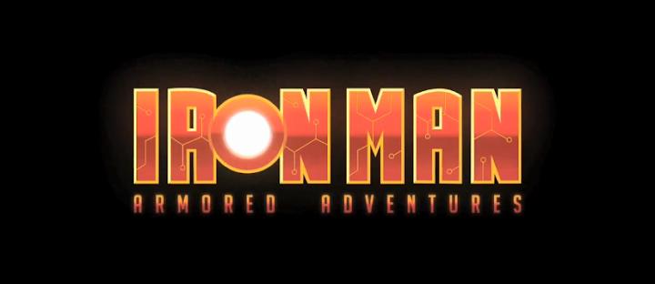 iron man armored adventures animated series logo