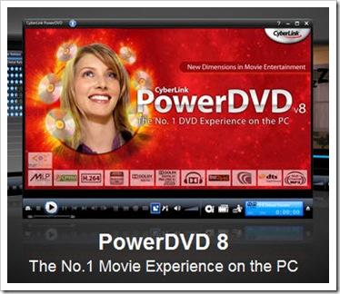 powerdvd 8 ultra