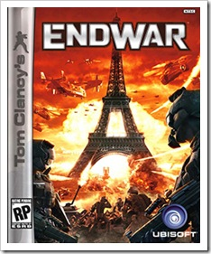 tom clancy&#39;s endwar cover