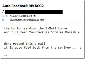 response fail 2