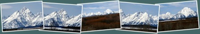 View Tetons Covered in Snow May 2010