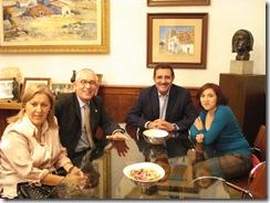 Reunión Alcalde Mérida 6-9-09
