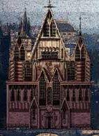 Готический  замок