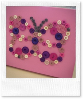 butterfly button canvas