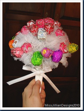 Bachelorette Lollipop Bouquet