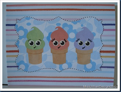 Sweet Ice Cream Birthday - Front