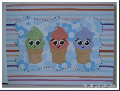 Sweet Ice Cream Birthday - Front