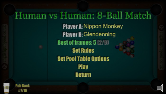 American 8-Ball Pool - Play Pool Against Your Friends (Human Vs Human Pool)