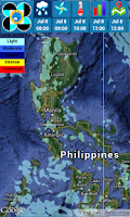 Screenshot of PAGASA-NEWS