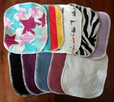 Pepper mini cloth wipes