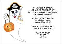 Invitations Halloween Party