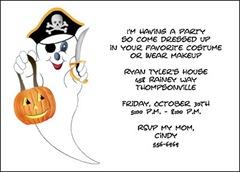 Invitations Halloween Party