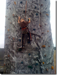 Real Mens rock wall