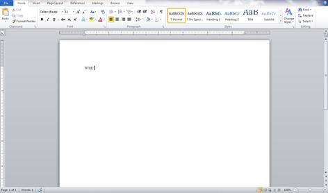Long report in progress.
