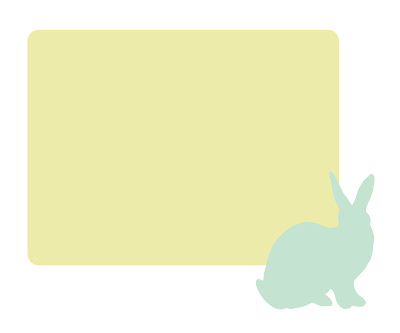 mailing label with said bunny for avery labels 5164 5264 5524 8164