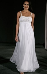 vestido de novia ideal para maternidad