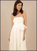vestido de novia para embarazadas dos
