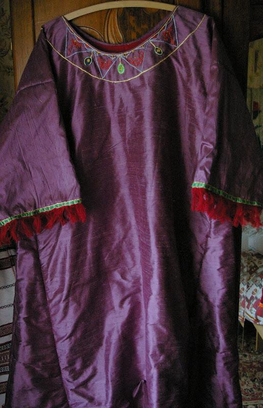 Robe mérovingienne VIème SG1L7254